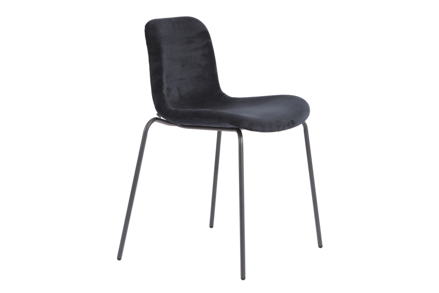 Most Current Goose Dining Chair – Velvet – Norr11 Pertaining To Dark Olive Velvet Iron Dining Chairs (View 16 of 20)