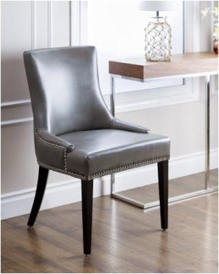 Most Current Grey Leather Dining Chairs For Grey Leather Dining Chairs For Furnishing The Dining Room – Home (View 8 of 20)
