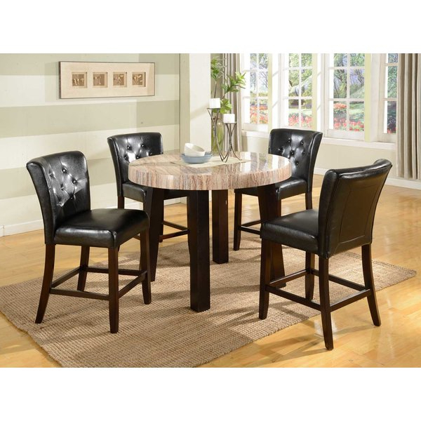 Most Current Jaxon 5 Piece Extension Counter Sets With Fabric Stools With Regard To Sophia Counter Chair (View 13 of 20)