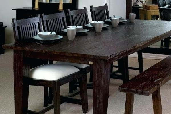 Most Current Large Dark Wood Dining Table  (View 15 of 20)