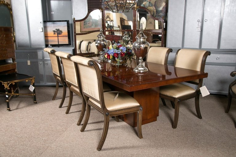 Most Current Laurent Round Dining Tables Inside Ralph Lauren Palaical Modern Hollywood Dining Table At 1stdibs (View 7 of 20)