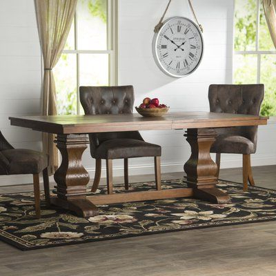 "Most Current Loon Peak Needham 95"" Extendable Dining Table (View 4 of 20)"