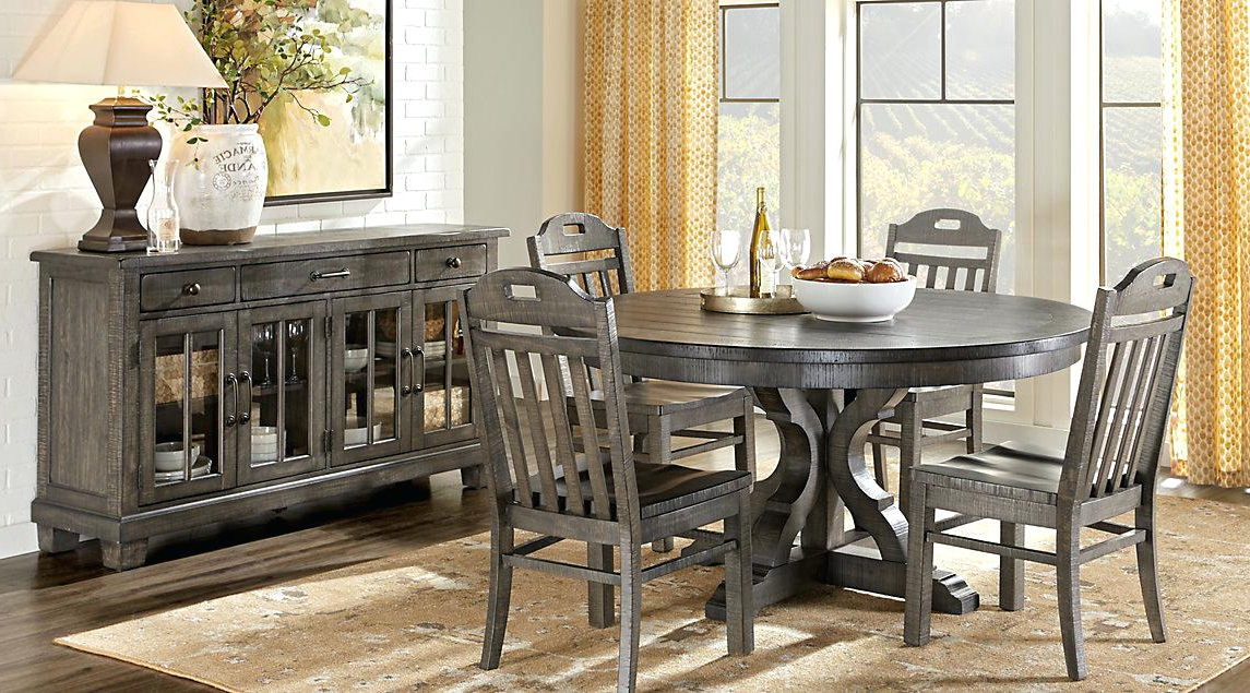 Most Current Macie Round Dining Tables With Dining Room Tables Round Affordable Round Dining Room Sets Rooms To (View 11 of 20)