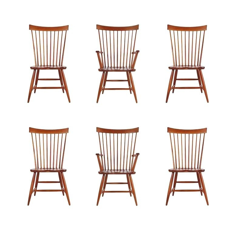 Most Current Magnolia Home Spindle Back Side Chairs In Set Of Two 2 Farmhouse Spindle Back Side Chair White We Ship Black (View 11 of 20)