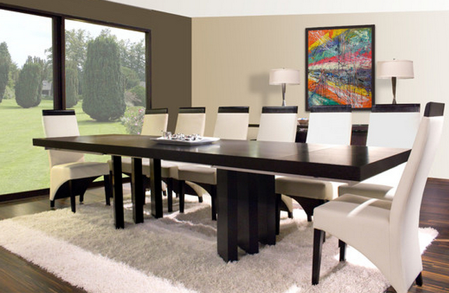 Most Current Modern Dining Sets Intended For 9 Piece Dining Sets For A Modern Dining Room – Cute Furniture (View 11 of 20)
