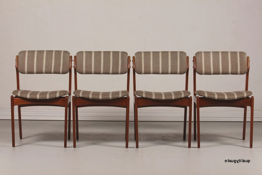 Most Current Modern Leather Dining Chairs Elegant Mid Century Od 49 Teak Dining Inside Natural Brown Teak Wood Leather Dining Chairs (View 8 of 20)