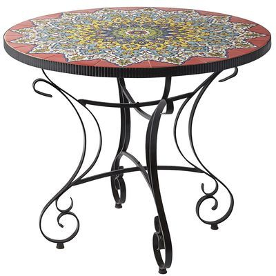 Most Current Mosaic Dining Tables For Sale Regarding Emilio Mosaic Dining Table (View 17 of 20)