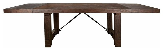 Most Current Orient Express Traditions Carter Extension Dining Table Throughout Valencia 72 Inch Extension Trestle Dining Tables (View 17 of 20)