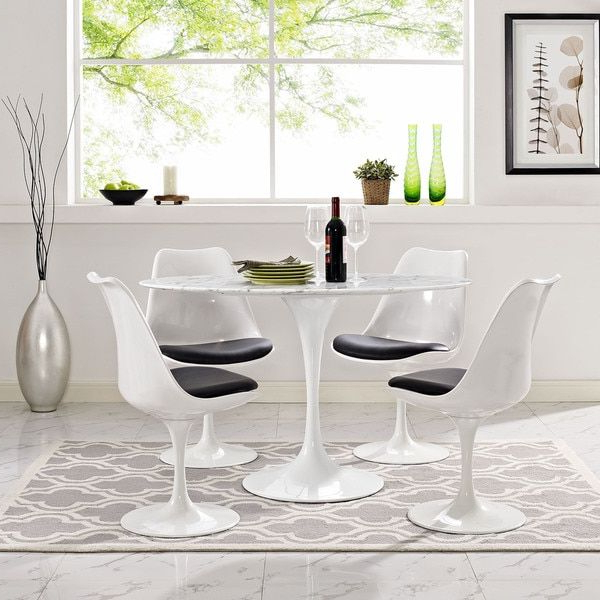 Most Current Palazzo 7 Piece Dining Sets With Pearson Grey Side Chairs Within 17 Best Tables Tulipes Images On Pinterest (View 8 of 20)