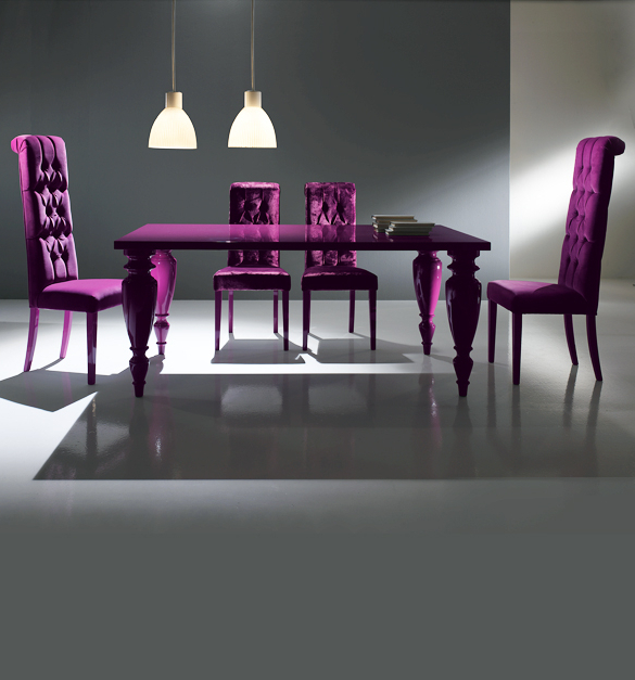 Most Current Purple Dining Room Sets (View 8 of 20)