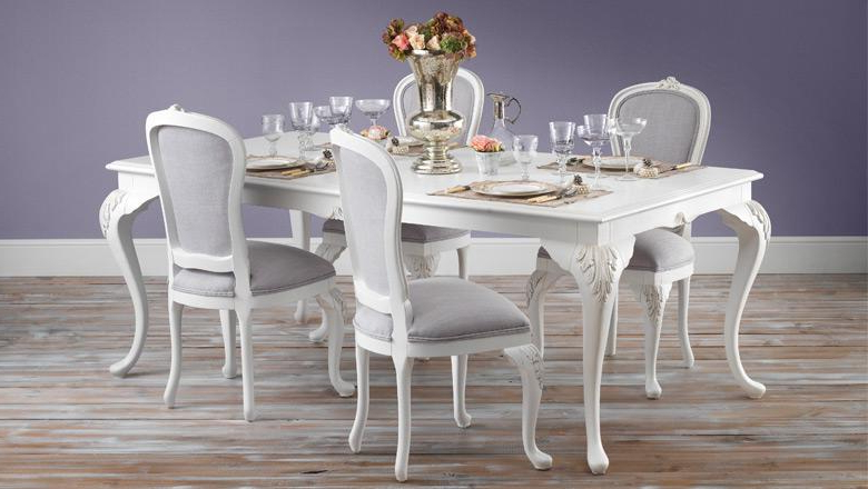 Most Current Rocco Extension Dining Tables Inside French Style, Vintage & Shabby Chic Furniture – Crown French Furniture (View 10 of 20)