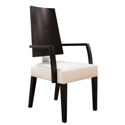 Most Current Rocco Side Chairs Within Sharelle Furnishings Rocco Arm Chair Finish: Black (View 8 of 20)