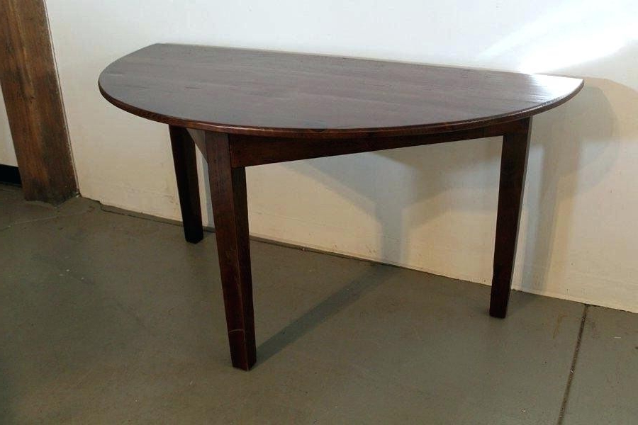 Most Current Round Half Moon Dining Tables Pertaining To Half Moon Dining Tables – Soulpower (View 9 of 20)