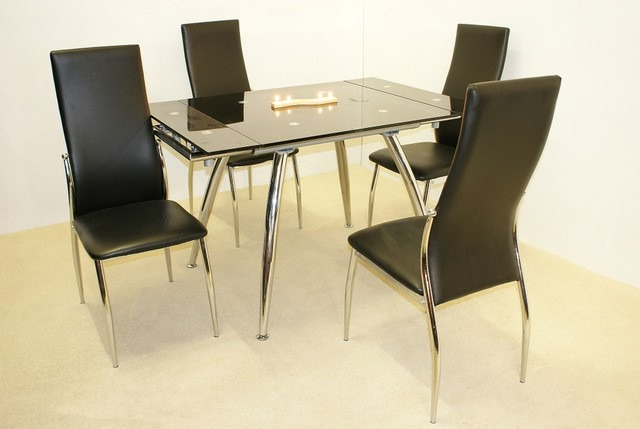 Most Current Sale On Madrid Small Extending Dining Table With 4 Chairs (View 7 of 20)