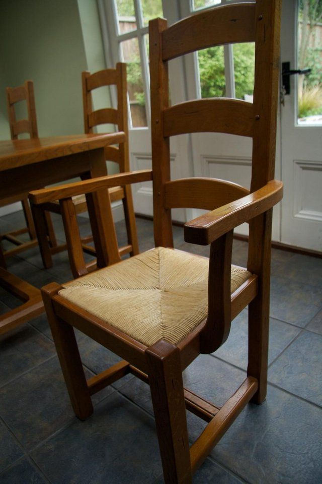Most Current Second Hand Oak Dining Chairs In Table And Chairs – Second Hand Household Furniture, Buy And Sell In (View 8 of 20)