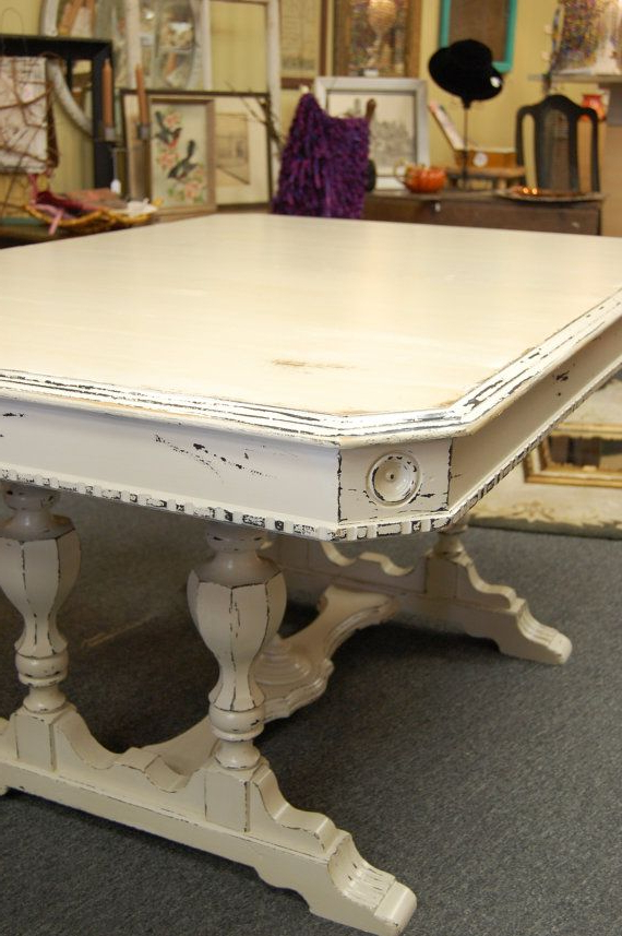 Most Current Shabby Chic Cream Dining Tables And Chairs Regarding 7 Treasury's And Counting. (View 9 of 20)