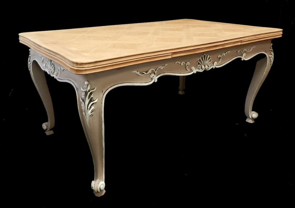 Most Current Superb French Extending Dining Table Solid Oak Parquet Top Early Inside Parquet Dining Tables (View 11 of 20)