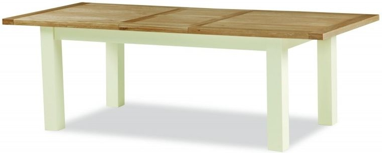 Most Current Sussex Painted 120cm 165cm Compact Rectangular Extending Dining Table With Regard To Extending Rectangular Dining Tables (View 15 of 20)