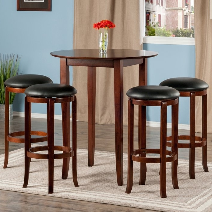 Most Current Top Brilliant Winsome Pub Table Pertaining To Property Ideas In Cora 5 Piece Dining Sets (View 14 of 20)