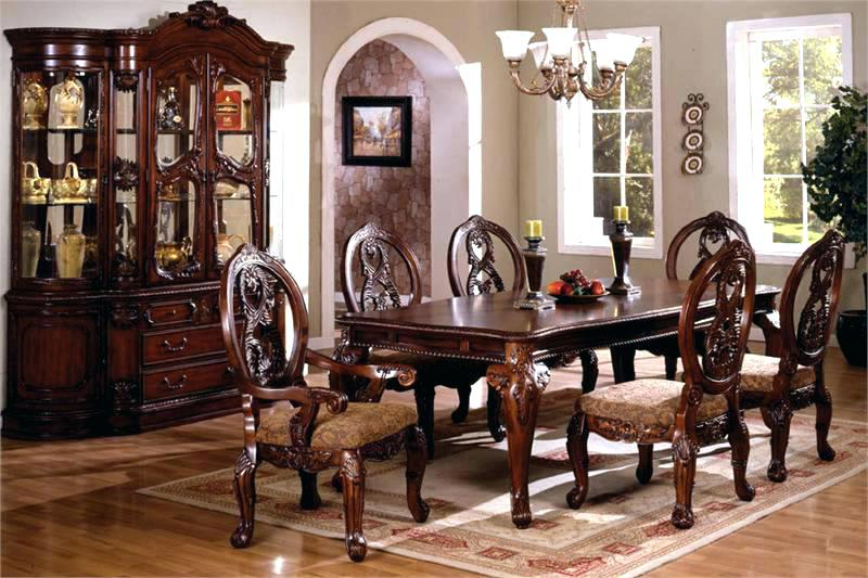 Most Current Traditional Dining Room Sets – Ansoftware Inside Traditional Dining Tables (View 13 of 20)