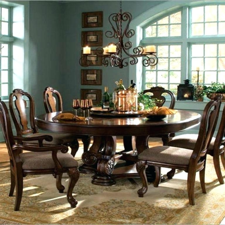 Most Popular 6 Person Dining Table 8 Dining Table Sets 6 Seater Round Dining With In 6 Person Round Dining Tables (View 15 of 20)
