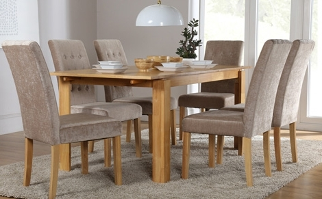 Most Popular 6 Seater Dining Set (View 2 of 20)
