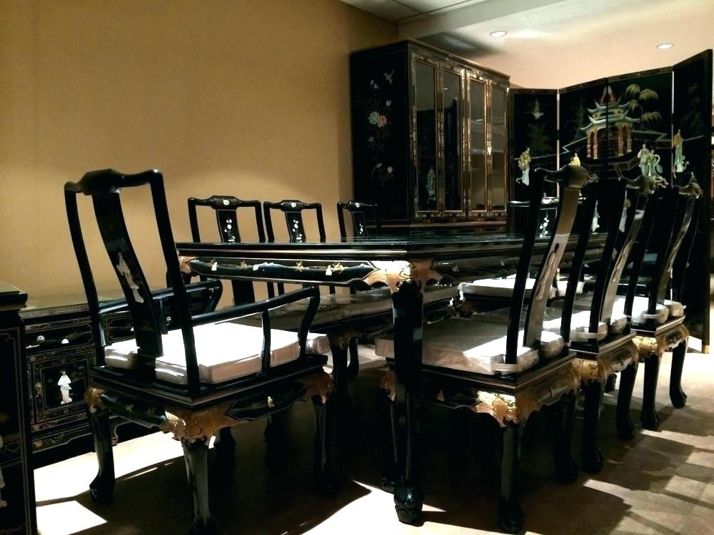 Most Popular Asian Dining Tables Inside Asian Dining Room Table Dining Table Dining Room Table Dining Room (View 14 of 20)