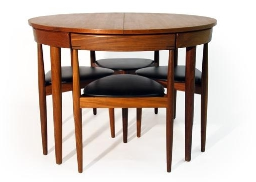 Most Popular Chapleau Ii Extension Dining Tables Pertaining To Mid Century Modern Hans Olsen Dining Table And Chairs For Sale In (View 14 of 20)