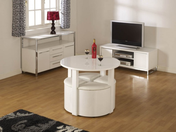 Most Popular Charisma Stowaway Dining Set – Noct Offs Intended For Stowaway Dining Tables And Chairs (View 4 of 20)