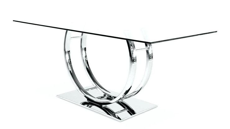 Most Popular Chrome Dining Tables Within Chrome Dining Tables – Tinvietkieu (View 12 of 20)