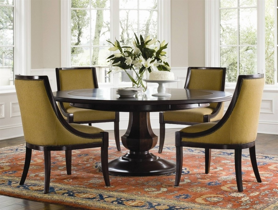 Most Popular Circular Dining Room Decor Ideas — Bluehawkboosters Home Design With Regard To Cheap Round Dining Tables (View 9 of 20)