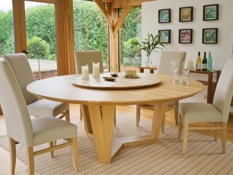 Most Popular Contemporary Round Dining Table (View 10 of 20)