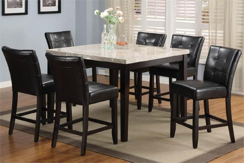 Most Popular Cora 7 Piece Dining Sets Regarding  (View 12 of 20)