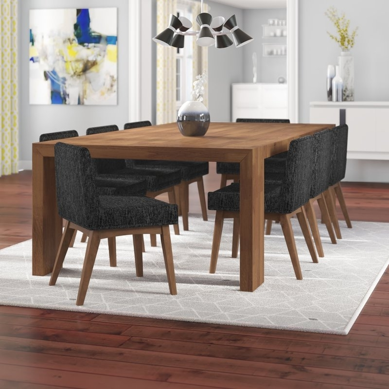 Most Popular Corrigan Studio Crume 9 Piece Dining Set (View 10 of 20)