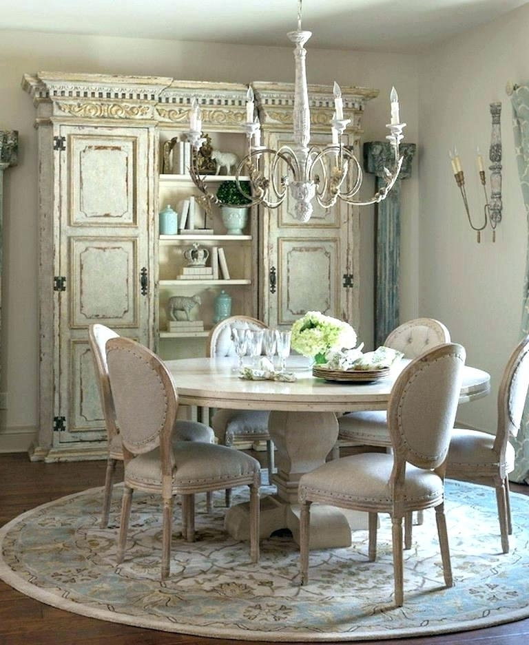 Most Popular Country Dining Tables Regarding French Dining Rooms French Style Dining Tables And Chairs French (View 10 of 20)