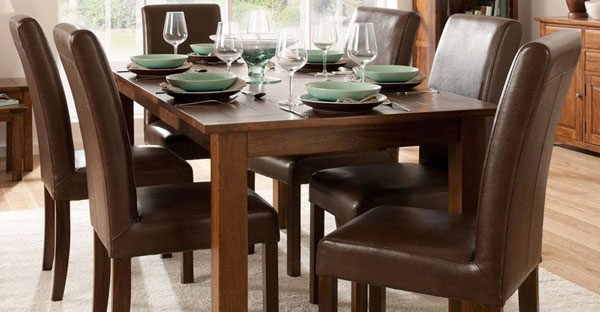 Most Popular Dark Wood Dining Room Furniture With Regard To Dark Wood Furniture (View 4 of 20)