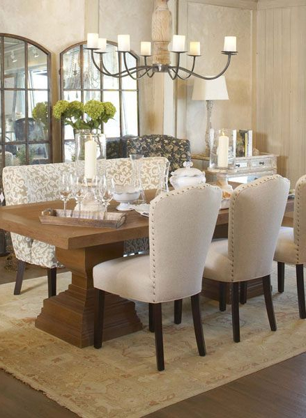 Most Popular Dining Room – We Could Get Two Mirrors Like The Ones Pictured (To Go Regarding Helms 5 Piece Round Dining Sets With Side Chairs (View 12 of 20)