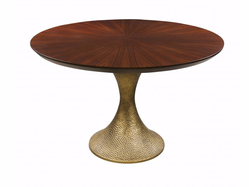 Most Popular Inès Hammered Dininghamilton Conte Paris With Hamilton Dining Tables (Gallery 4 of 20)