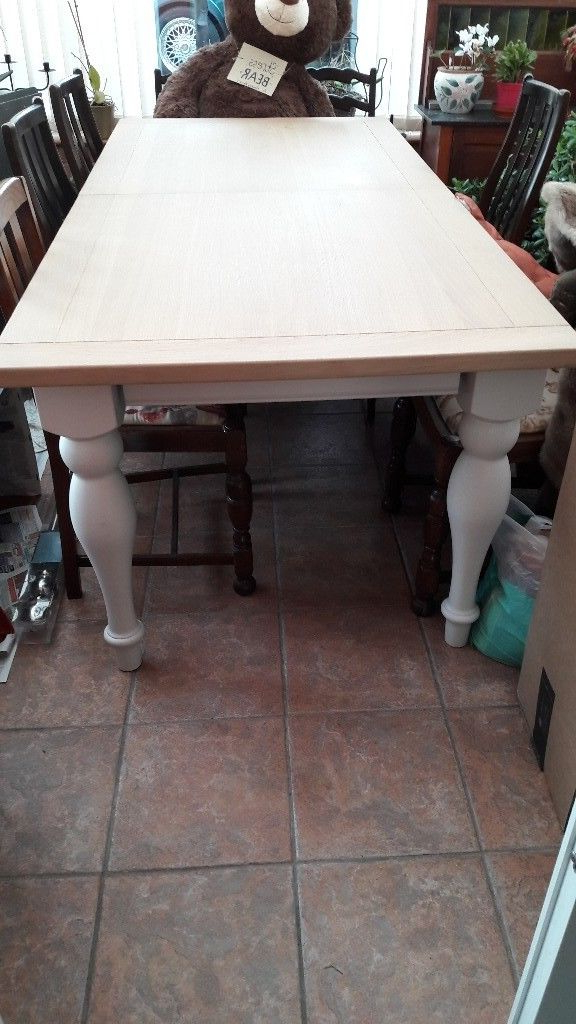 Most Popular Ivory Painted Dining Tables For Reduced Next Shaftesbury Ivory Painted 6 8 Seater Dining Table (View 14 of 20)
