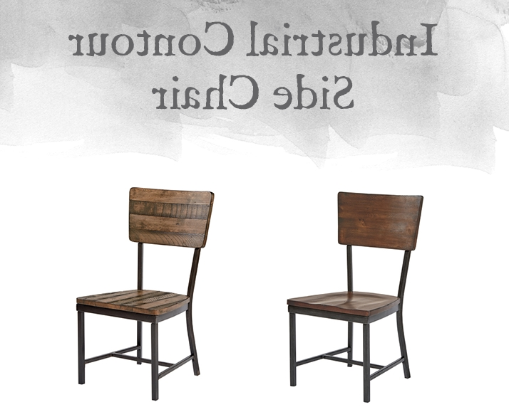 Most Popular Magnolia Home Contour Milk Crate Side Chairs In Magnolia Home Preview: Industrial Collection (View 12 of 20)