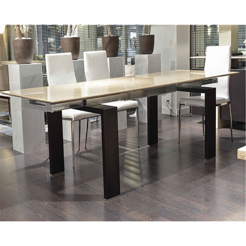 Most Popular Marble Dining Sets For Extending Marble Dining Tables (View 14 of 20)