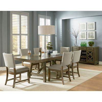 Most Popular Market 7 Piece Dining Sets With Side Chairs Within Dining Room Sets, Dining Tables & Dining Chairs (View 2 of 20)