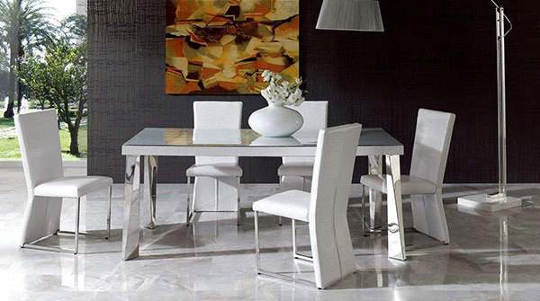 Most Popular Modern Dining Sets Pertaining To 15 Sophisticated Modern Dining Room Sets (View 15 of 20)