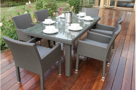 Most Popular Monaco Dining Sets With Rattan Furniture Fairy (View 18 of 20)