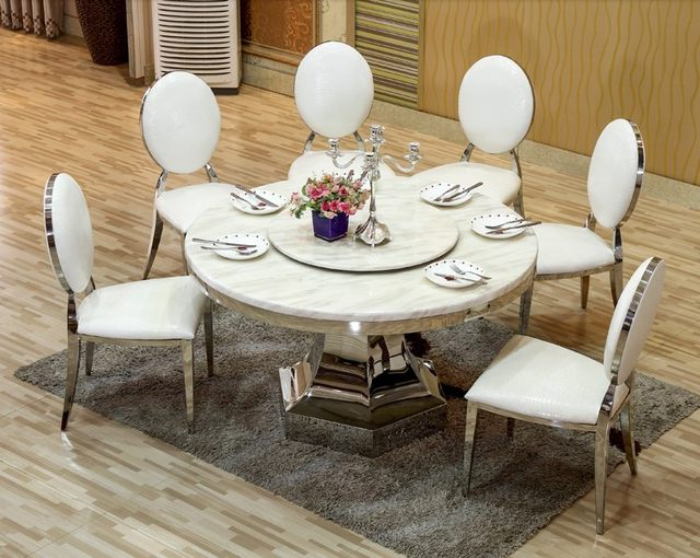 Most Popular Online Shop Modern Dining Room Chairs Elegant Leather Design 2015 Regarding Modern Dining Room Furniture (View 13 of 20)