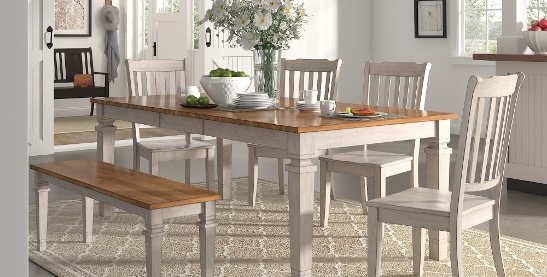 Most Popular Pelennor Extension Dining Tables Inside Buy 6 Piece Sets Kitchen & Dining Room Sets Online At Overstock (View 10 of 20)