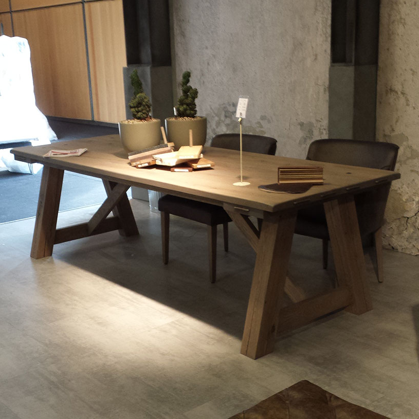 Most Popular Rustic Dining Tables With Regard To Round Rustic Dining Tables – Thunderdomemag Home Decor (View 8 of 20)