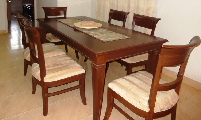 Most Popular Second Hand Oak Dining Chairs With Regard To Second Hand Solid Oak Dining Table And Chairs – Architecture Home (View 3 of 20)