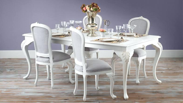 Most Popular Shabby Dining Tables And Chairs Pertaining To Shabby Chic Round Dining Table Chic Dining Table Image Of Shabby (View 15 of 20)
