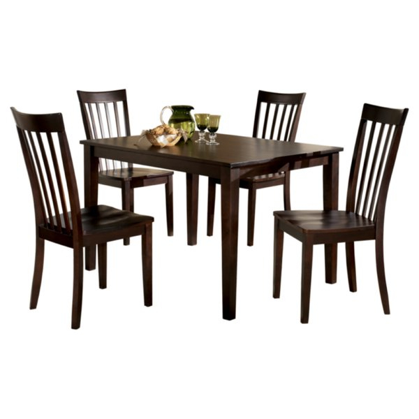 Most Popular Signature Designashley Hyland 5 Piece Dinette Set & Reviews Regarding Hyland 5 Piece Counter Sets With Bench (View 2 of 20)